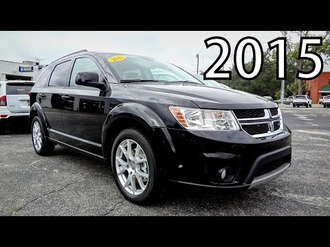 2015 DODGE JOURNEY SXT - YouTube