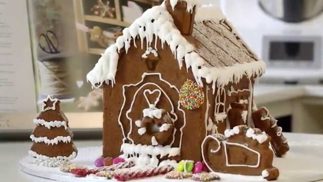 Thermomix Gingerbread House