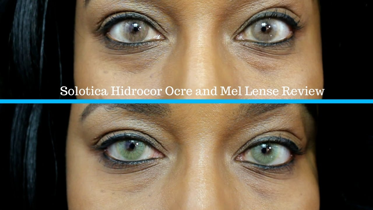 Solotica Ocre And Mel On Brown Tone Skin Review 2016