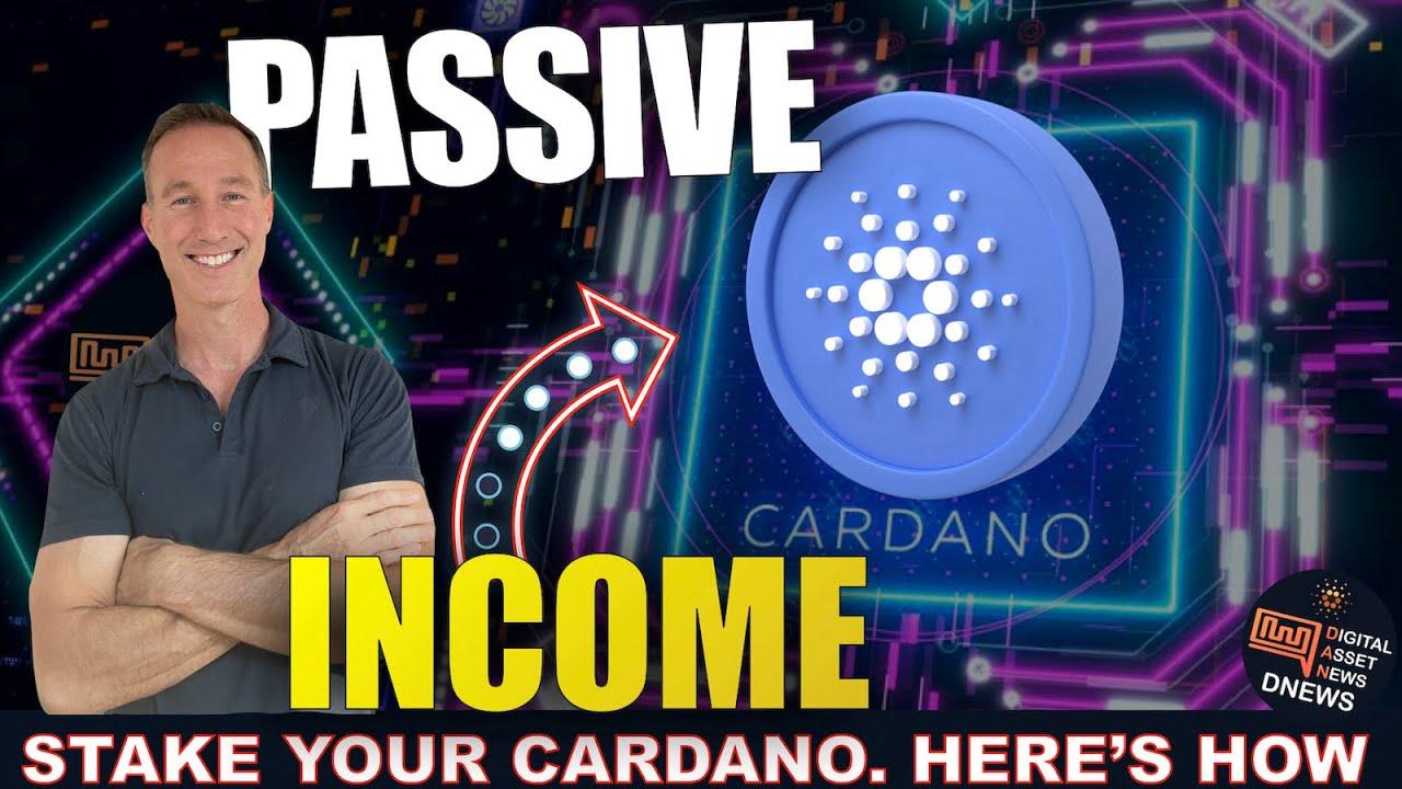 CRYPTO PASSIVE INCOME MADE EASY (ADA CARDANO STAKING GUIDE) DAEDALUS, YOROI, ADALITE WALLET.