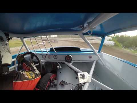 Thunderbird Speedway   Street Stock Feature 6/25/16   GoPro In-Car Camera #23H