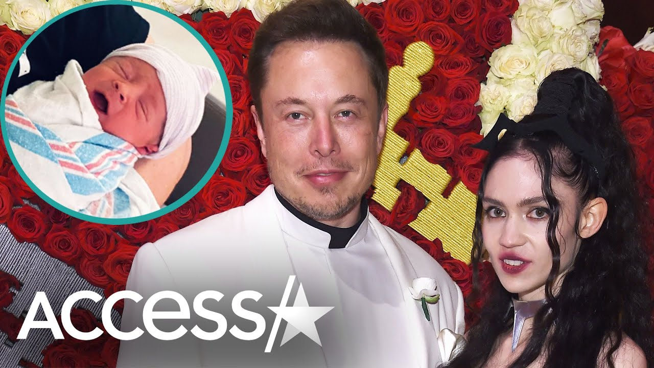 Grimes & Elon Musk Change Son's Name From X Æ A-12