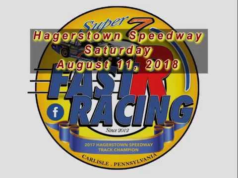 Super 7 at Hagerstown Speedway 081118