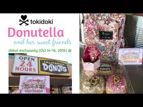 Tokidoki's Donutella and her Sweet Friends debut at California Donuts w/ limited ed donuts