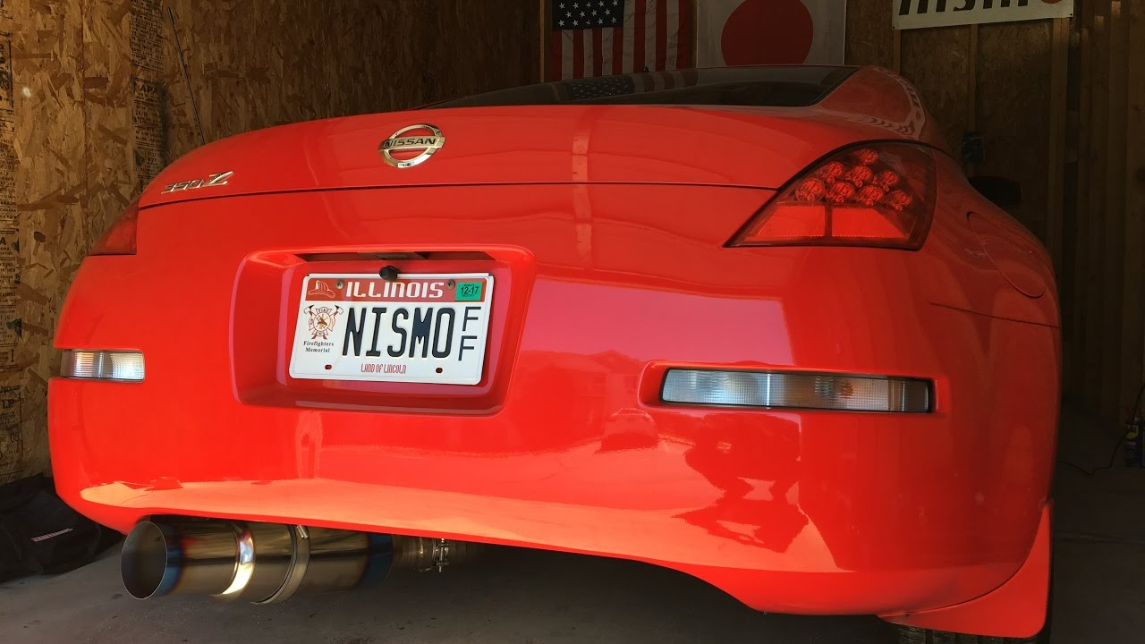 MY NEW 350Z + TOMEI EXHAUST INSTALL