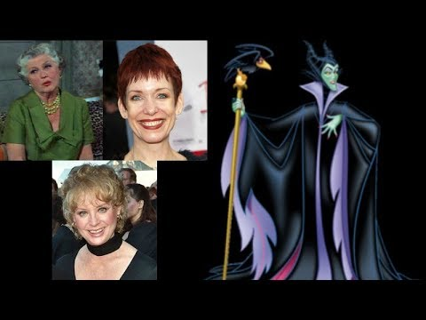 Animated Voice Comparison Maleficent Sleeping Beauty