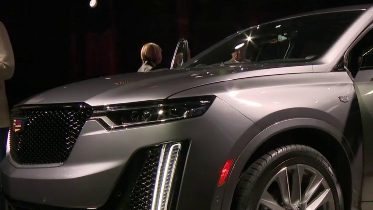 2020 Detroit Auto Show Debuts.Cadillac Debuts 2020 Xt6 Crossover Ahead Of Detroit Auto Show