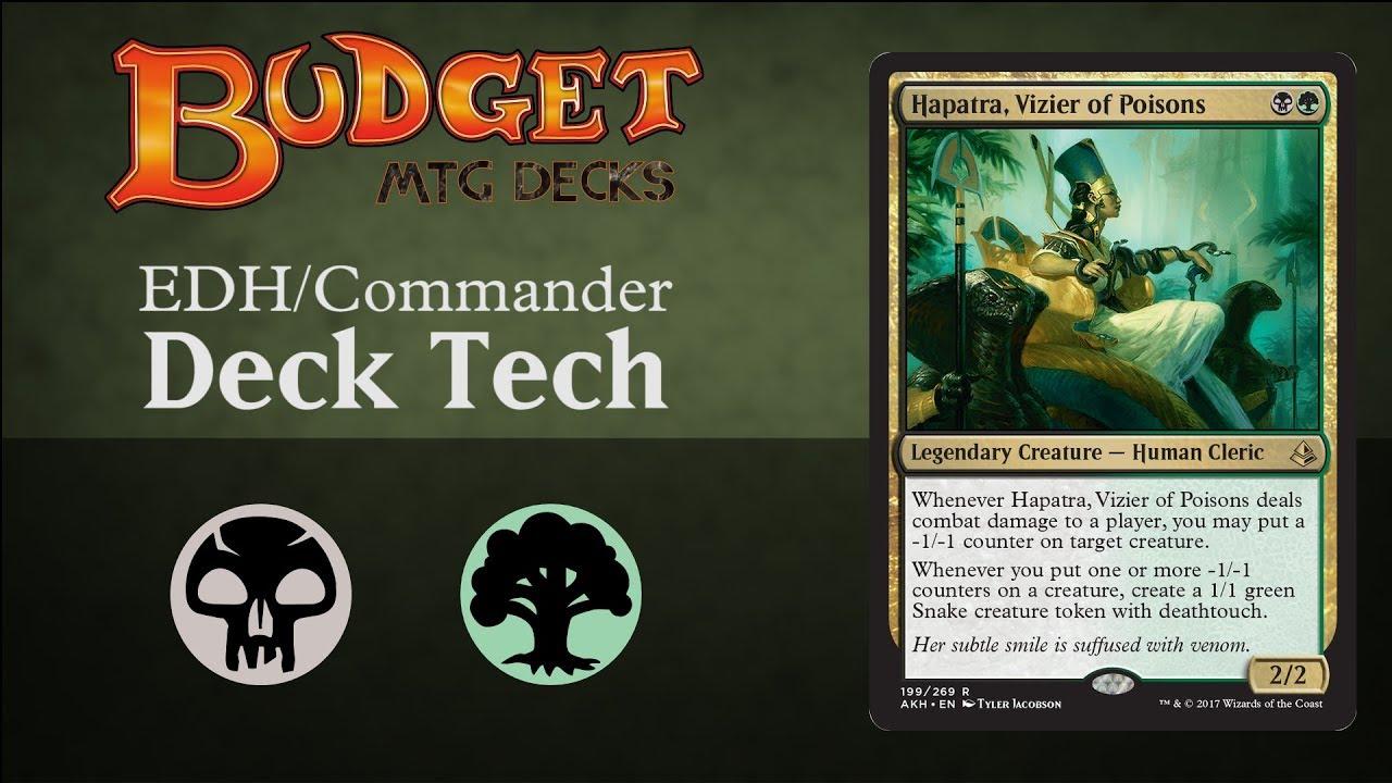 Budget Hapatra, Vizier of Poison - EDH / Commander
