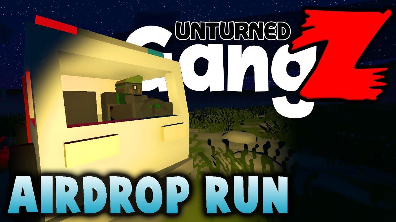Unturned GangZ Season 6 Ep 7 Airdrop Run Russia Map YouTube