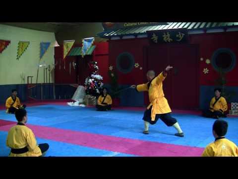 Shaolin Yanxu performs You Long Jian  - Shaolin Temple Cultural Center USA