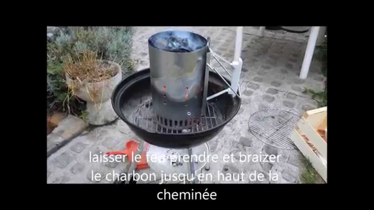 Barbecue Weber Cheminee Weber Kettle Compact 47 Et Sa Cheminée Dallumage Bbq Ignition Chimney