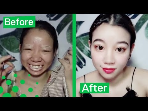 Chinese Girl Shows Incredible Make Up Transformation
