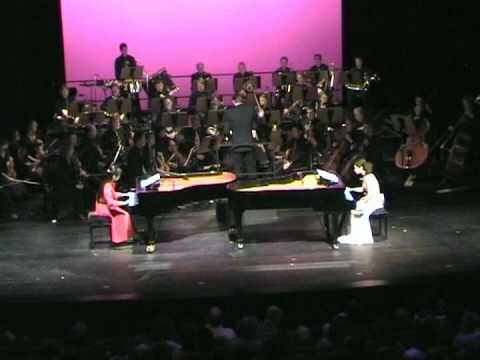 Part1, Poulenc D-Moll for 2 Pianos & Orchestra, Anny Hwang