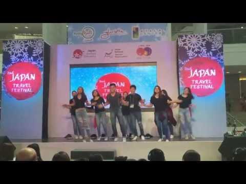 Kumamon Dance in 2nd Japan Travel Festival by JNTO