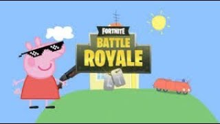 WHEN PEPPA PIG PLAYS FORTNITE PART 1! (Creating The Account).