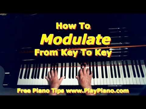 Modulation - How To Get From One Key To Another Key