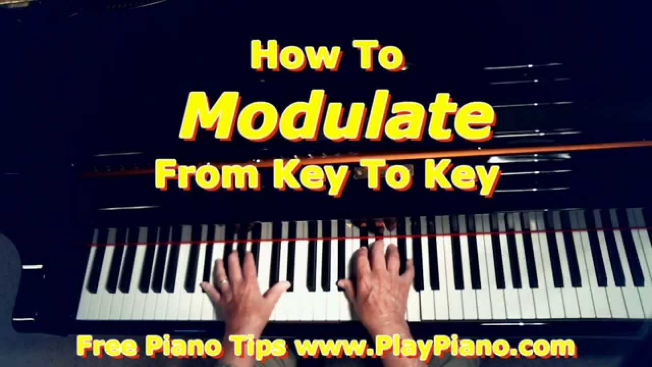 Modulation how to get from one key to another key youtube hexwebz Image collections