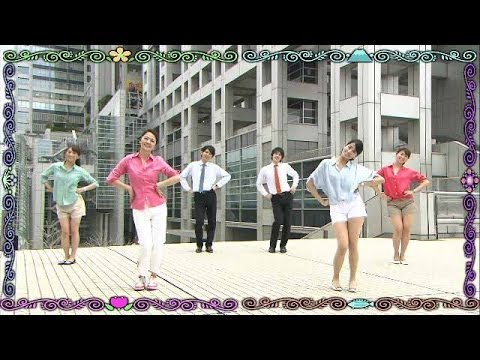 "Fuji TV Announcers Dance to ""Piihyara Dance""【Fuji TV Official】"