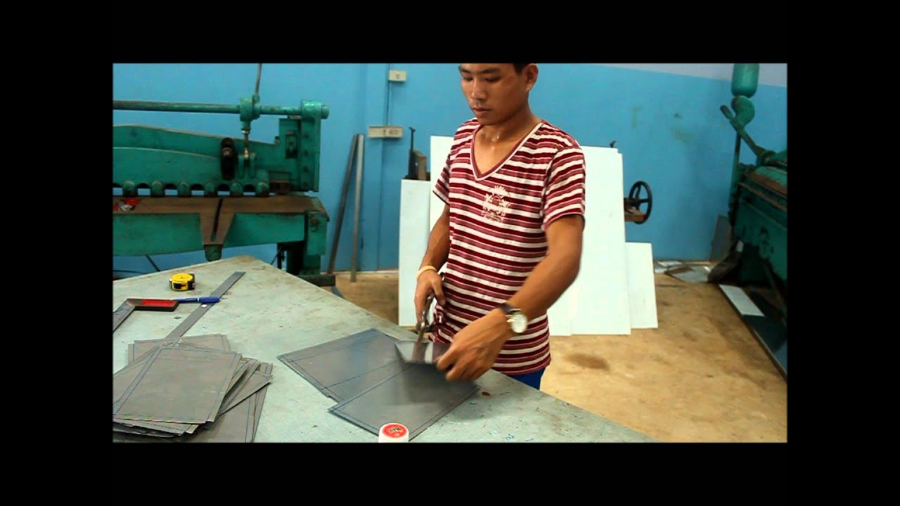Cutting Sheet Stainless Steel Youtube