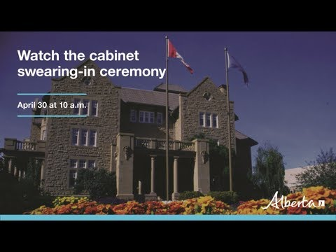 Cabinet swearing-in ceremony – April 30, 2019