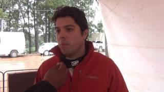 Didier Arias - Entrevista final (em espanhol) - Rally de Erechim 2017
