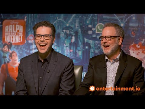 Directors Phil Johnston & Rich Moore Talk Ralph Breaks The Internet