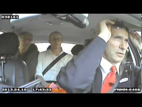 Norwegian Prime Minister's secret taxi shift