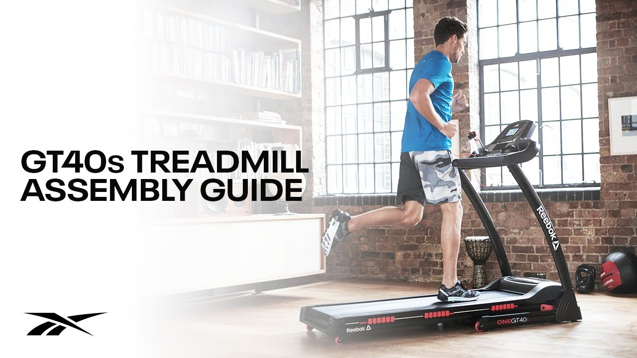 Reebok GT40's One Series Treadmill – Step-by-Step Assembly Guide