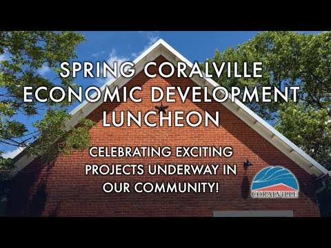 Spring Coralville Economic Development Luncheon - May 12, 2017