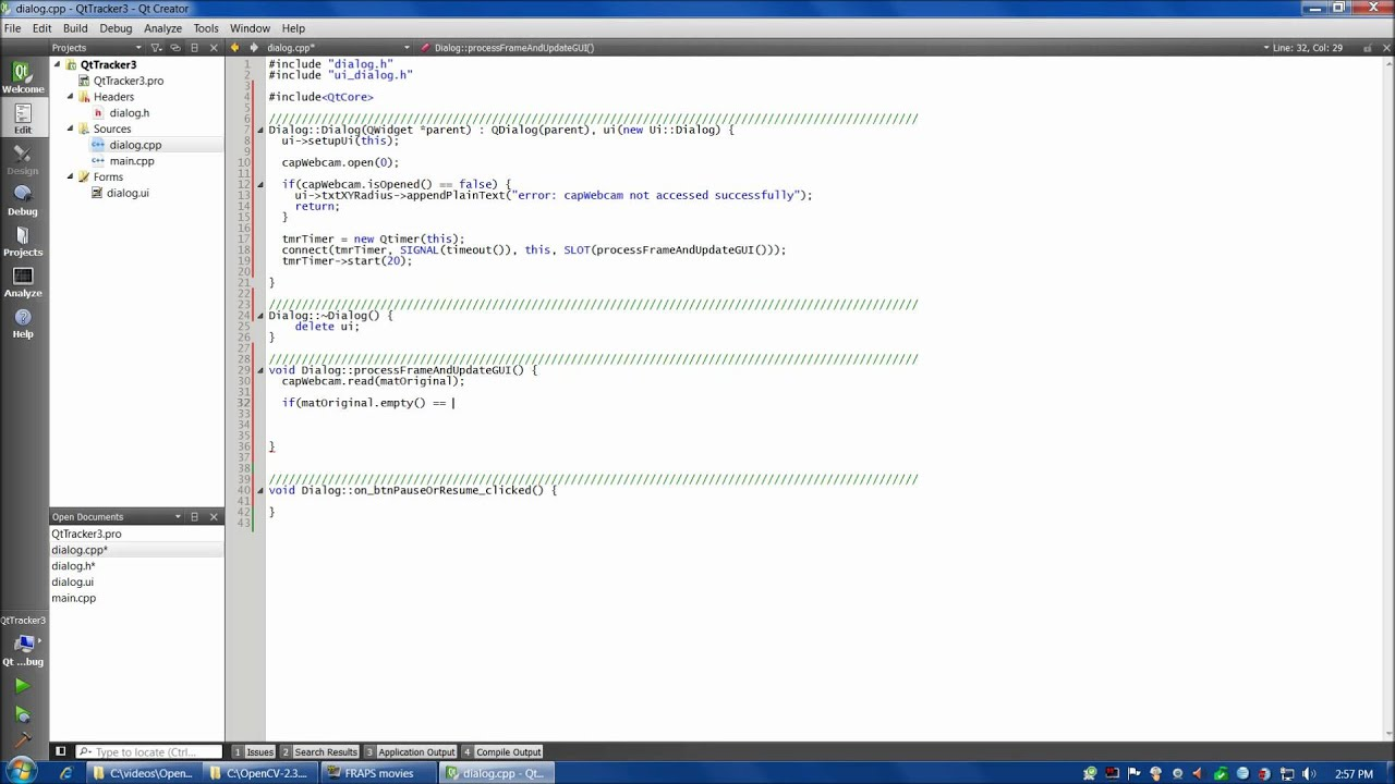 OpenCV tutorial 4: OpenCV and Qt