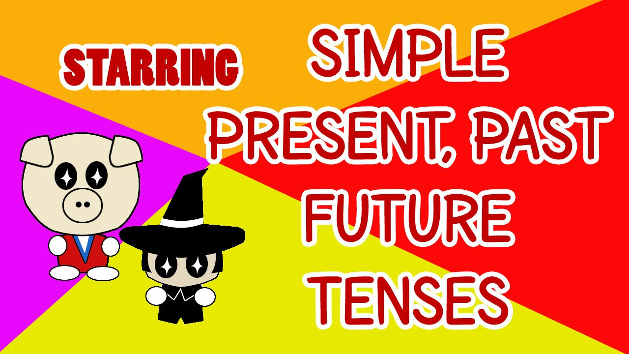 grammar past present future tense
