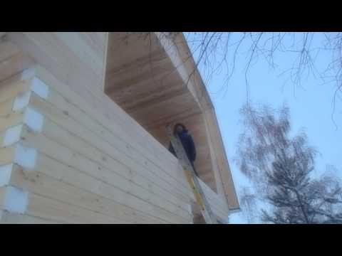 Молчаново, Дом 6х6 с мансардой и балконом (обзор)