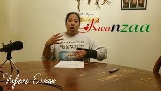 7 Principles of Kwanzaa day 7 Imani-Faith