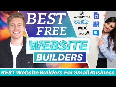 TOP 7 BEST FREE Website Builders for Small Business [2021]