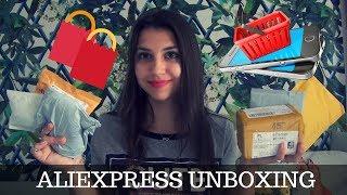 ALIEXPRESS UNBOXING - 10 RZECZY!