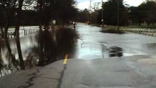 Currie Parkway Flooding In Midland Mi