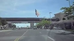 A drive through West Wendover, Nevada and into Wendover, Utah