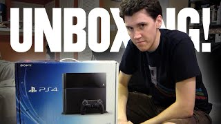 PlayStation 4 Unboxing (Day 1827 - 11/25/14)