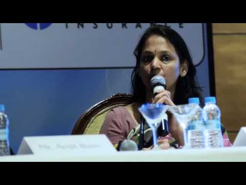 R. M. Vishakha, MD & CEO of IndiaFirst Life Insurance speaks at the Asia Insurance Post