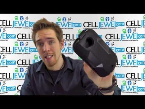CellJewel.com - HTC Desire C /Wildfire C /Golf Black/Black Hybrid Combo Holster