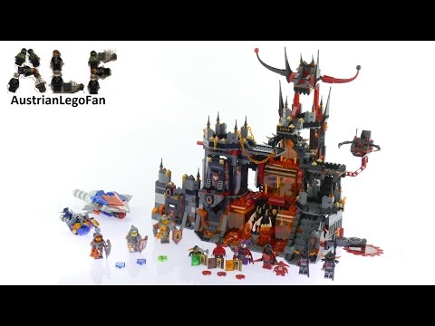 Lego Nexo Knights 70323 Jestro´s Volcano Lair - Lego Speed Build Review