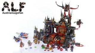 Lego Nexo Knights 70323 Jestro´s Volcano Lair - Lego Speed Build Review
