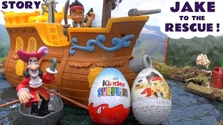 Disney Jake To The Rescue Kinder Surprise Eggs Thomas Train Toy Story Planes Ugglys Pet Shop