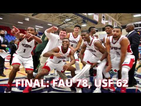 FAU Hoops Defeats USF