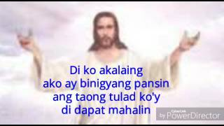 Ang Tanging Alay ko (Original) with lyrics