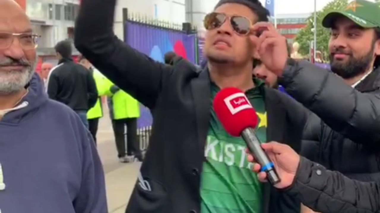 Pakistani cricket team fans reaction on loosing against india
