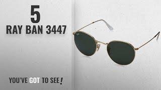 332678bd8511 Top 10 Ray Ban 3447   Winter 2018    Ray-Ban Metal Round Sunglasses