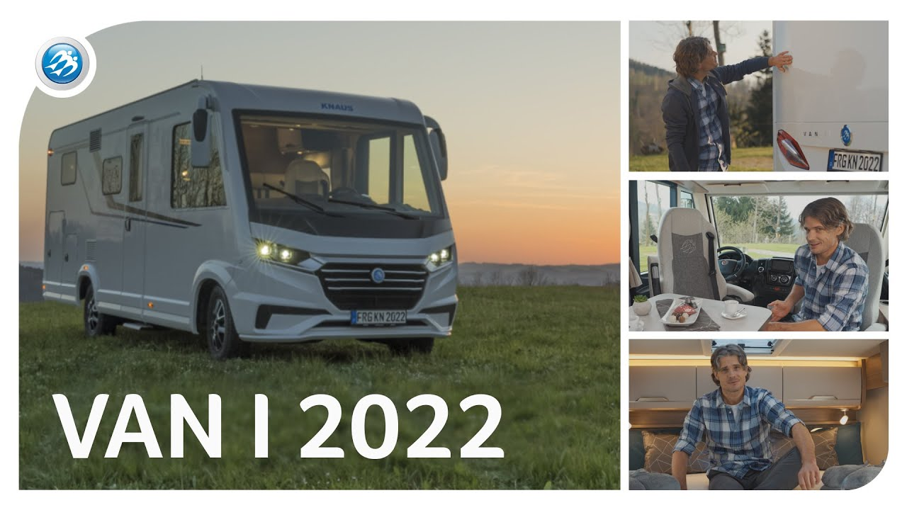 ☆NEW☆ KNAUS VAN I - Fully Integrated & Fully Compact
