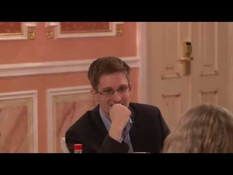 Video of Edward Snowden at Sam Adams Award Presentation