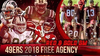 Live! 49ers Free Agency 2018 - Ronbo Sports Red & Gold GM EP 5